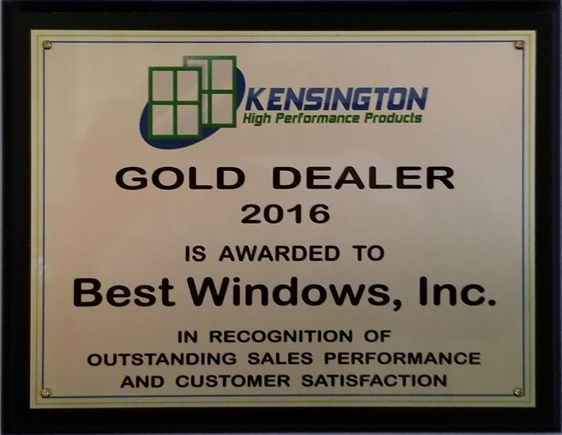 Best Window Company Award, Chicago, IL Photo - Best Windows, Inc.