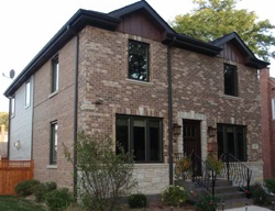 New Exterior Windows Facing Front Yard, Chicago, IL Picture - Best Windows, Inc.