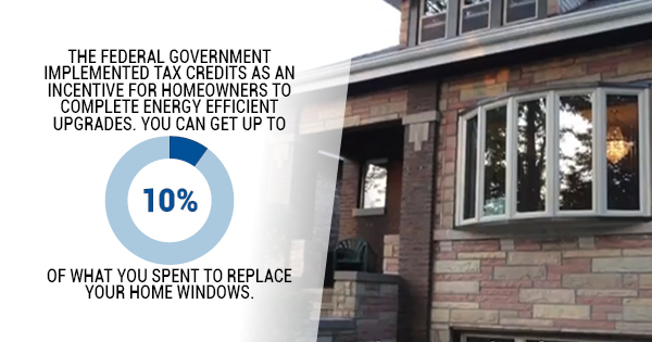 tax credit for replacement windows