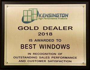 Best Window Company Award, Chicago, IL Photo - Best Windows, Inc.